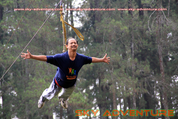 Outbound Lembang - flying fox Lembang