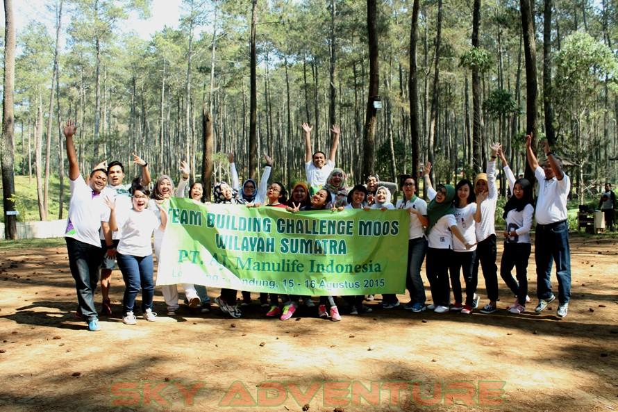 PT ASURANSI JIWA MANULIFE INDONESIA-WILAYAH SUMATERA | TEAM BUILDING PROGRAM | PAINTBALL LEMBANG | WISATA ALAM CIATER