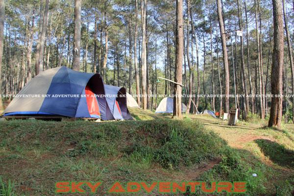 camping ground cikole lembang bandung jawa barat indonesia by Sky Adventure Indonesia