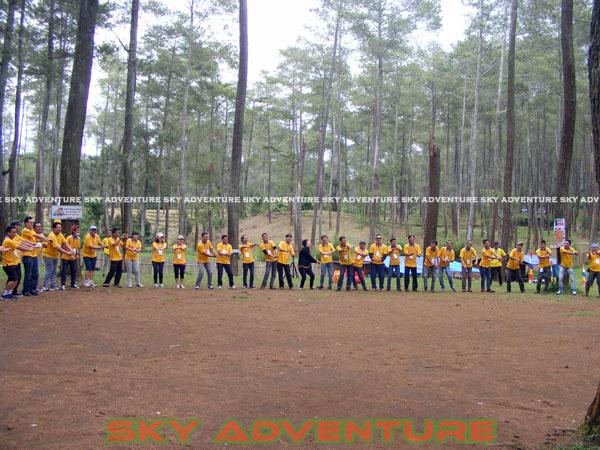 kegiatan company gathering pt centre park corp jakarta