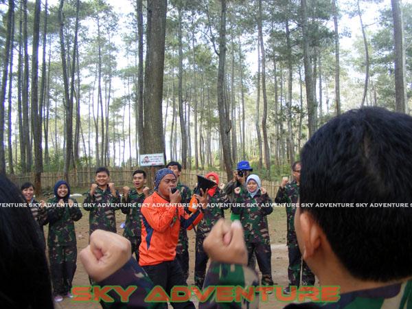 paintball simulation war games bank mandiri RCO Jakarta kota di jungle cikole lembang bandung jawa barat indonesia (6)