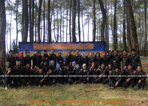 paintball simulation war games bank mandiri RCO Jakarta kota di jungle cikole lembang bandung jawa barat indonesia (72)
