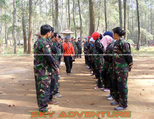 paintball simulation war games bank mandiri RCO Jakarta kota di jungle cikole lembang bandung jawa barat indonesia (9)