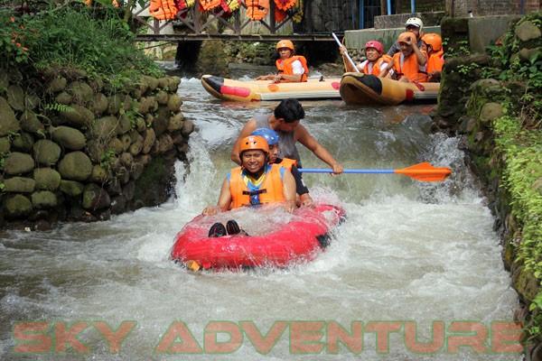 kegiatan outing PT Catur Bangun Mandiri di ciater bersama Sky Adventure Indonesia (10)