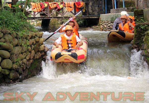 kegiatan outing PT Catur Bangun Mandiri di ciater bersama Sky Adventure Indonesia (11)