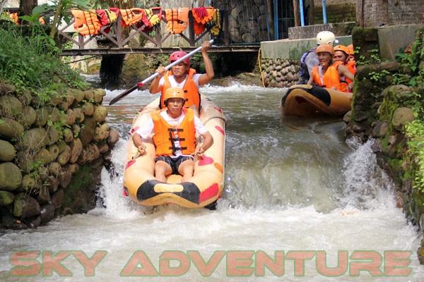 kegiatan outing PT Catur Bangun Mandiri di ciater bersama Sky Adventure Indonesia (12)