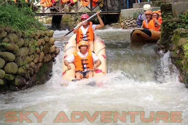 kegiatan outing PT Catur Bangun Mandiri di ciater bersama Sky Adventure Indonesia (13)