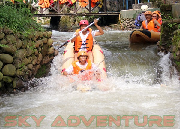kegiatan outing PT Catur Bangun Mandiri di ciater bersama Sky Adventure Indonesia (14)