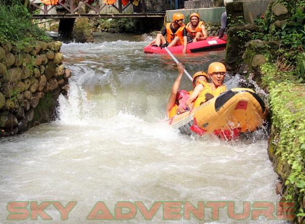 kegiatan outing PT Catur Bangun Mandiri di ciater bersama Sky Adventure Indonesia (15)