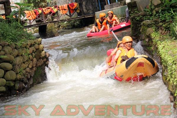 kegiatan outing PT Catur Bangun Mandiri di ciater bersama Sky Adventure Indonesia (16)