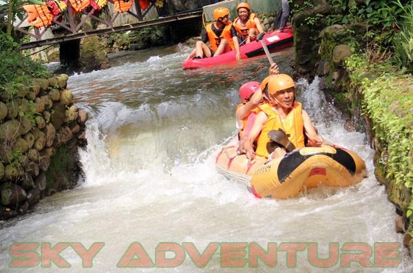 kegiatan outing PT Catur Bangun Mandiri di ciater bersama Sky Adventure Indonesia (17)