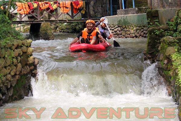 kegiatan outing PT Catur Bangun Mandiri di ciater bersama Sky Adventure Indonesia (18)