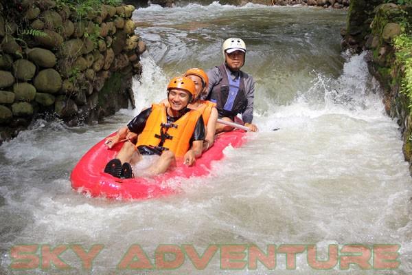 kegiatan outing PT Catur Bangun Mandiri di ciater bersama Sky Adventure Indonesia (19)