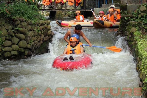 kegiatan outing PT Catur Bangun Mandiri di ciater bersama Sky Adventure Indonesia (9)