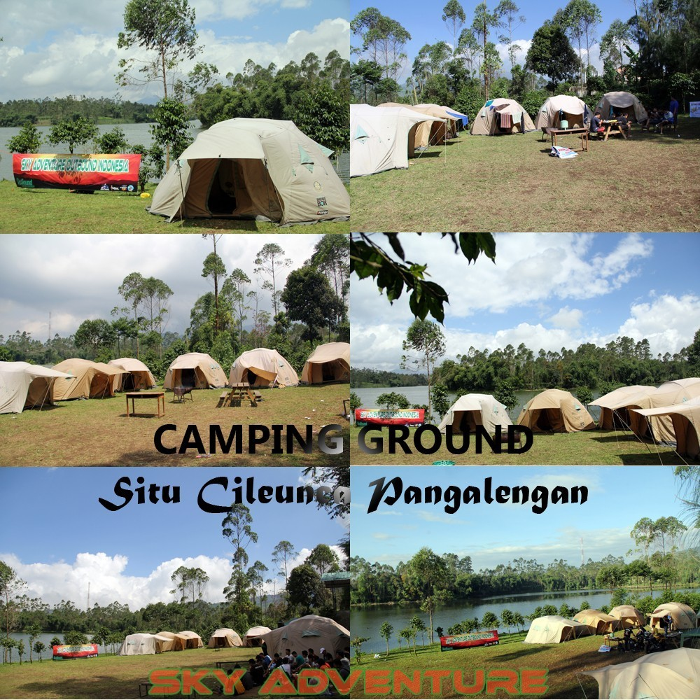 Outbound -Rafting -Fun Game -Hikking -Tea Walk -Menginap di tepi danau Situ Cileunca-BCA Finance Tasikmalaya Jawa Barat, Indonesia (52) Camping Ground 1