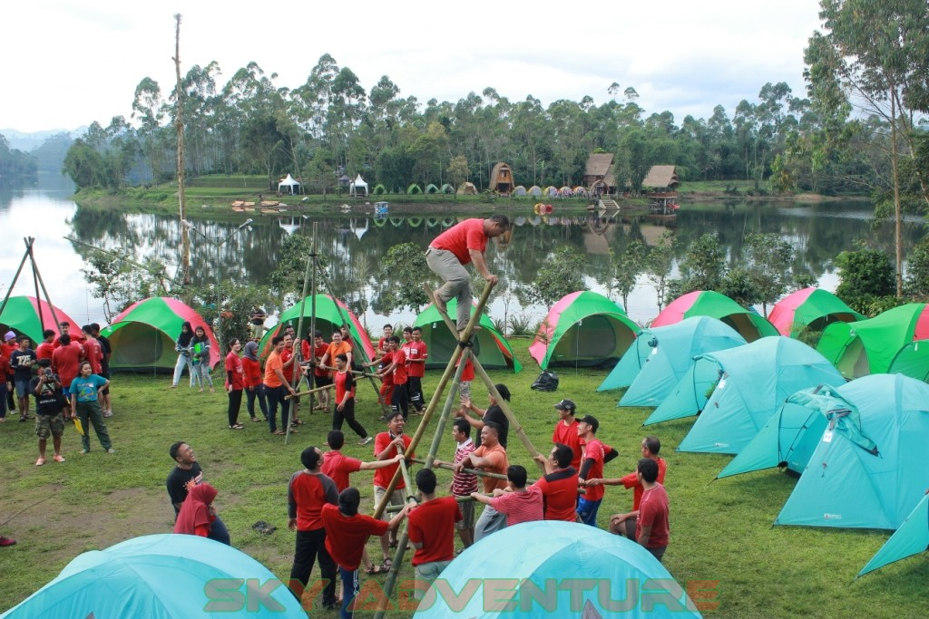 OUTBOUND TRAINING PANGALENGAN JAWA BARAT EO RECOMMENDED