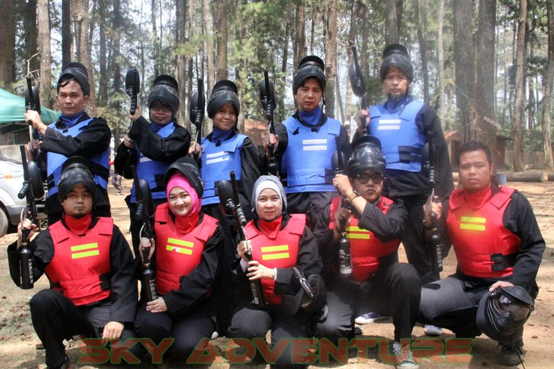 PT EPSON INDONESIA - CIKARANG | PAINTBALL WAR GAMES PROGRAM - ONE DAY OUTBOUND LEMBANG & ENTERTAINMENT