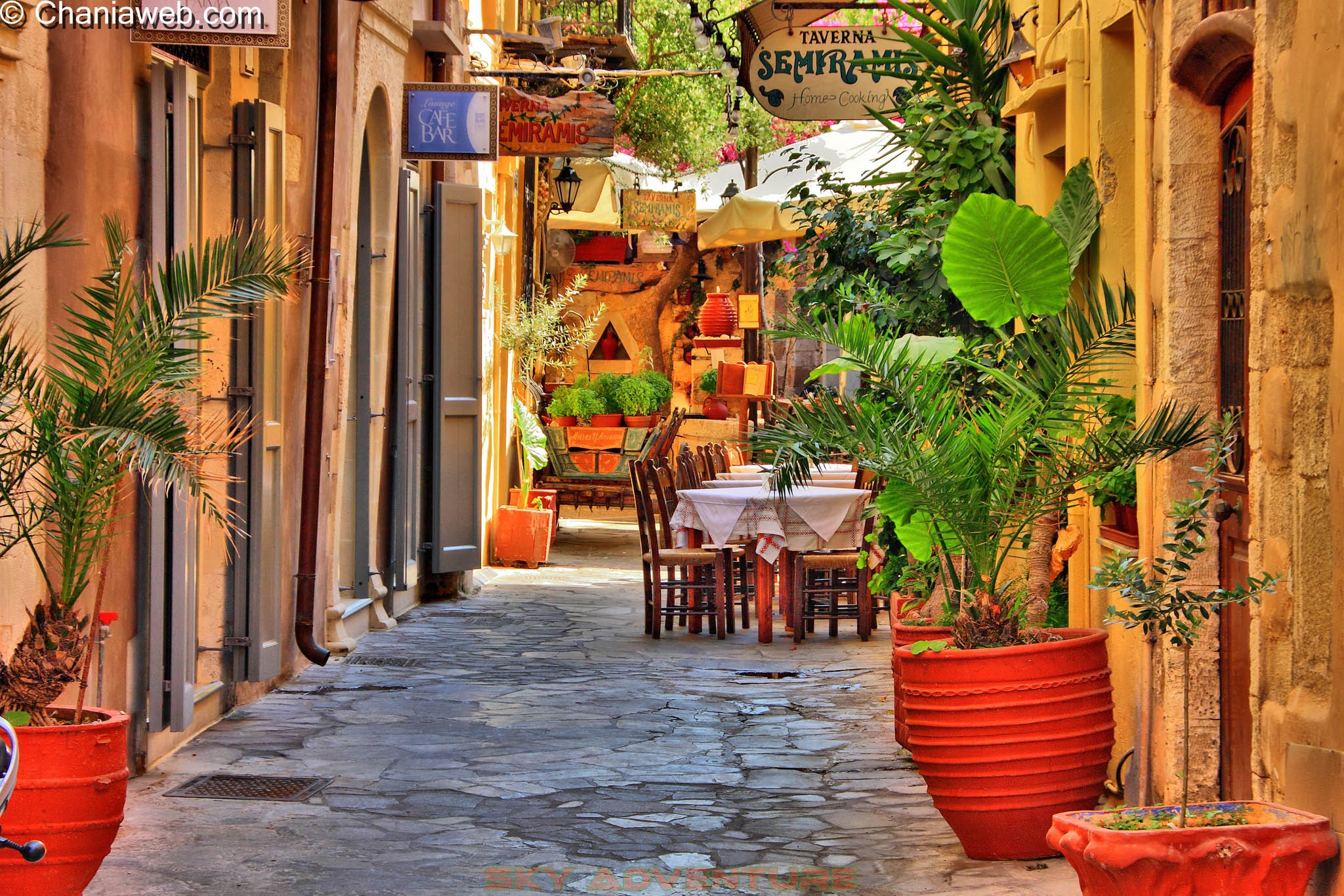 Visiting the Old Town in Chania, Greece